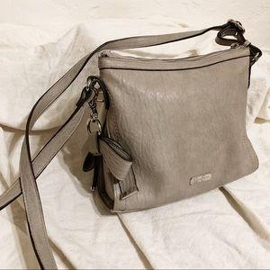 Jessica Simpson Grey Crossbody Bow Bag